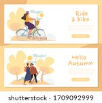 fall holiday season recreation... | Shutterstock .eps vector #1709092999