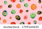 hand painting abstract...   Shutterstock . vector #1709164633