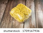 Instant Noodles. Dry Yellow...