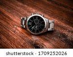 Metal Luxury Wrist Watch On A...