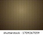 chain mail medieval bronze...   Shutterstock .eps vector #1709267059