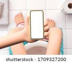 3d illustration. cartoon hand... | Shutterstock . vector #1709327200