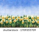 Seamless Flower Grass Pattern ...
