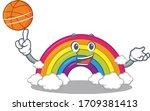 Gorgeous Rainbow Mascot Design...