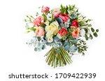 Wedding Bouquet  Isolated On...