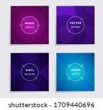 modern plate music album covers ...   Shutterstock .eps vector #1709440696