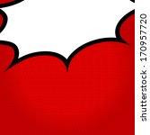 speech bubble pop art style  | Shutterstock .eps vector #170957720