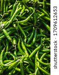Green Chilli Peppers For Sale...