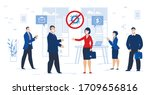 successful business meeting... | Shutterstock .eps vector #1709656816