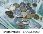 polish currency    Shutterstock . vector #1709666050