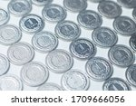 polish currency   Shutterstock . vector #1709666056