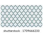 vintage stylish pattern... | Shutterstock .eps vector #1709666233