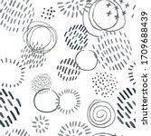 vector modern seamless... | Shutterstock .eps vector #1709688439