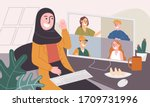 flat style vector illustration...   Shutterstock .eps vector #1709731996