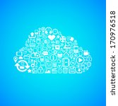 computer cloud icon  concept... | Shutterstock .eps vector #170976518