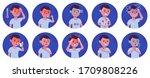 coronavirus 2019 ncov symptoms... | Shutterstock .eps vector #1709808226