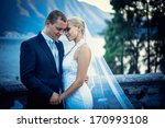 young newly wed couple | Shutterstock . vector #170993108