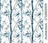 Bamboo Seamless Pattern On A...