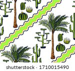 vector background hand drawn... | Shutterstock .eps vector #1710015490