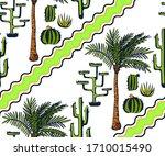 vector background hand drawn...   Shutterstock .eps vector #1710015490