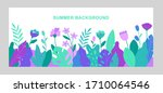 vector abstract summer... | Shutterstock .eps vector #1710064546