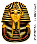Egyptian Pharaoh Tutankhamen ...