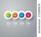 abstract 3d digital...   Shutterstock .eps vector #171009674