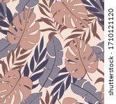 original seamless tropical...   Shutterstock .eps vector #1710121120