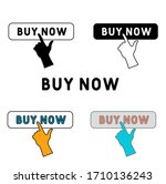 buy now icon in different style ...