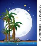 illustration of a bright...   Shutterstock . vector #171015710