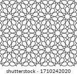 islamic seamless pattern.... | Shutterstock .eps vector #1710242020