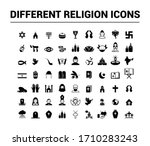 collection of different... | Shutterstock .eps vector #1710283243