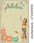 aloha sign | Shutterstock .eps vector #171029354