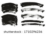 flat paint brush thin curved... | Shutterstock .eps vector #1710296236