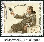 Germany   Circa 1982  A Stamp...