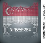 Flag Of Singapore From Square...