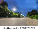 Empty Streets In Kfar Warburg...
