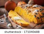 pumpkin bread | Shutterstock . vector #171040688