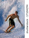 san diego  ca   may 12   surfer ... | Shutterstock . vector #17104294