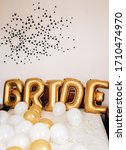 perfect decor for the bride's... | Shutterstock . vector #1710474970