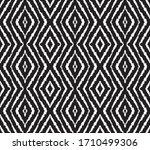 ikat seamless pattern. border... | Shutterstock .eps vector #1710499306