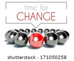 time for change business unique ...   Shutterstock . vector #171050258