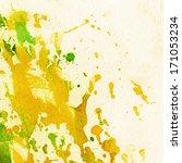abstract watercolor  ink... | Shutterstock . vector #171053234