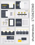 best geometric presentation... | Shutterstock .eps vector #1710625360