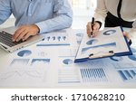 Business And Financial Concept. ...