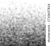 abstract futuristic halftone... | Shutterstock .eps vector #1710637816