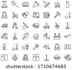 editable thin line isolated... | Shutterstock .eps vector #1710674683