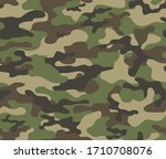 texture military camouflage... | Shutterstock .eps vector #1710708076