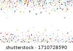 color decoration rain card....   Shutterstock .eps vector #1710728590