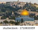 The Mosque Dome Of The Rock An...